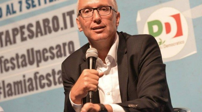 Luca Ceriscioli in corsa per la Regione