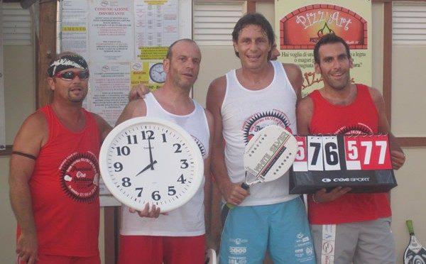 Sportland: beach tennis a gonfie vele