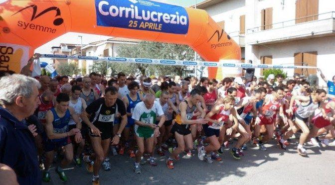 "CORRILUCREZIA: 25 APRILE ""DI CORSA"""