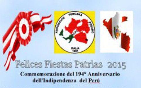 Pesaro in festa per l'indipendenza del Perù