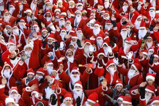 Da Barchi a Piagge riparte la Corsa dei Babbi Natale