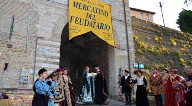 Montefelcino ospita lo storico Mercatino del Feudatario