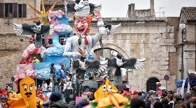 Il Carnevale va in collina