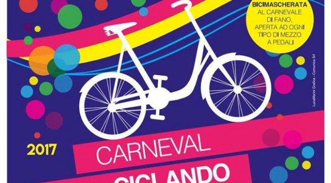 Carneval Ciclando: una pedalata colorata per Forbici
