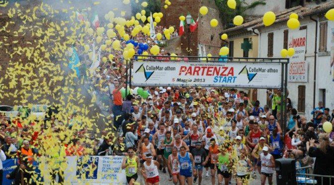 Collemarathon: sempre più solidale la maratona dei valori