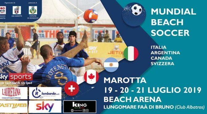 Mundial Beach Soccer: a Marotta campioni da tutto il mondo