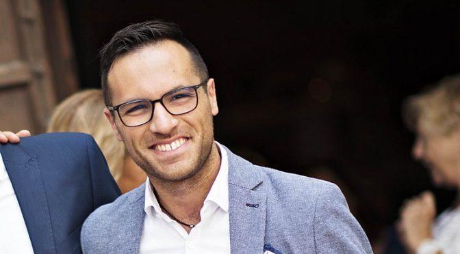Luca Serfilippi candidato al consiglio regionale